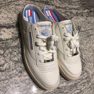 2ba7b843d9166 Reebok Shoes - Reebok Club C 85 Mule Chalk White